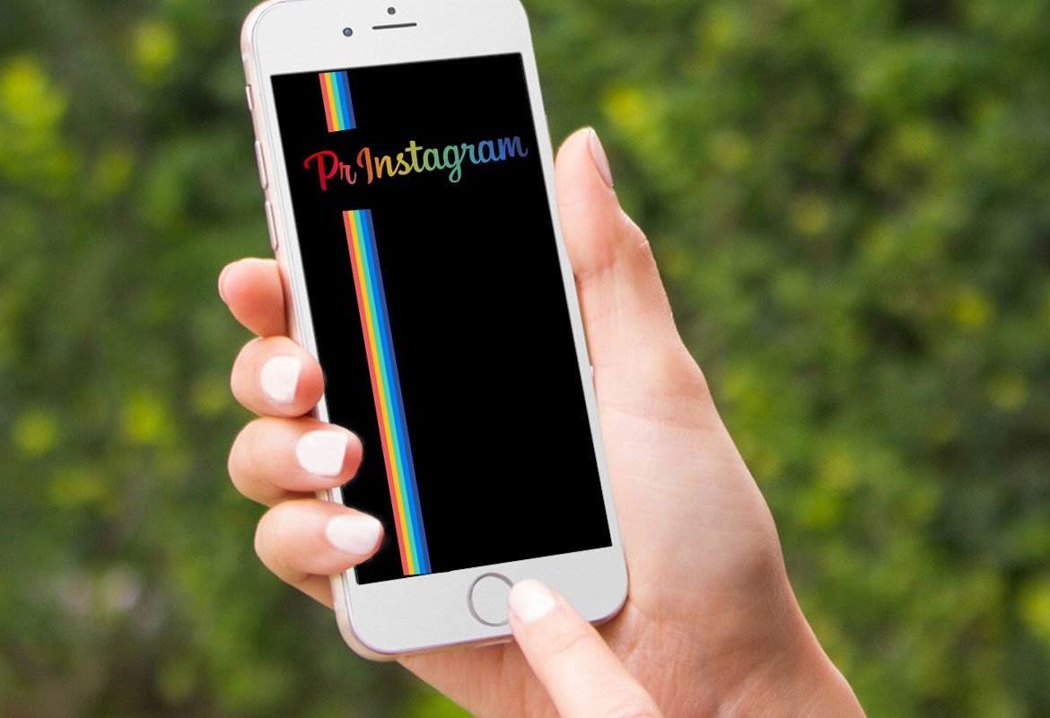 PrInstagram on Phone